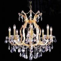Best Crystal Chandelier with 9 Lights, Measures 660 x 660mm wholesale