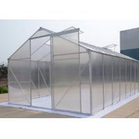 Best 6mm Hollow One Stop Gardens Greenhouse , Transparent PC Sheet Greenhouse wholesale