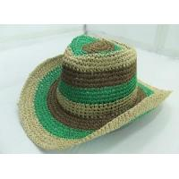 China 3-Tone String Cowboy Hat on sale