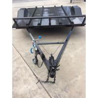 China Flatbed Motorcycle Transport Trailer 8x6 With Heavy Duty Tie Down Rings on sale