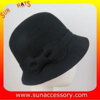 Best 2264 Sun Accessory customized fashion winter wool felt  cloche hats  ,women hats and caps wholesaling wholesale