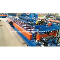 Best 6 Corrugated Roofing Sheet Roll Forming Machine With Plc Control System wholesale