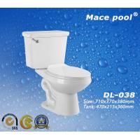 Best Ceramic Sanitary Ware Siphonic Ceramic Two Piece Toilet (DL-038) wholesale
