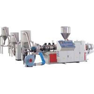 Best Hot Granulating PVC Granules Making Machine Twin Screw Extruder Machinery wholesale