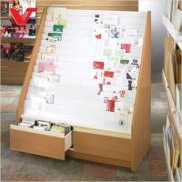 Best Wooden Display Stand For Promotion Of Greeting Card and magazines wholesale