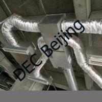 Buy cheap Fiberglass wool insulated flexible air duct 4 inch insulated duct product