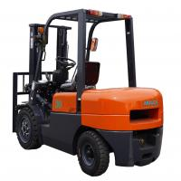 Best 3000mm Lift Height Diesel Forklift Truck With Pneumatic Tires Automatic Transmission wholesale