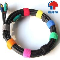China Eco-Friendly logo-printed velcro cable tie , velcro strap on sale