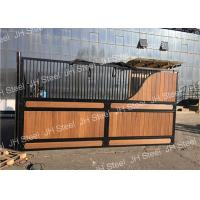 Best Durable Luxurious Stables Horse Stall Fronts Stable With Sliding Door Panel wholesale