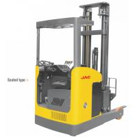 Best Seated Type 1 Ton Electric Reach Fork Truck Counterbalanced For Warehouses wholesale