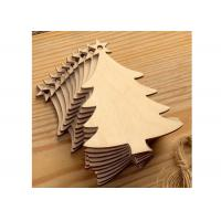Best Creative Wood Anniversary Gifts Christmas Tree For Holiday / Party / Home Decoration wholesale
