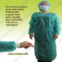 China Ly Disposable Nonwoven Isolation Gown on sale
