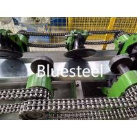 Best Steel Profile C Z Shape C Channel Purlin Roll Forming Machine With Pre - Cutting wholesale