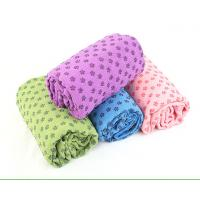 Best Wholesale Custom Printed Silicone Dots Non-slip Yoga Towels Non-slip Ultra Non Slip Softtextile Yoga Microfibre Towels wholesale