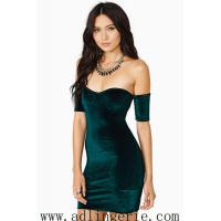China inverted cashmere Slim sexy halter dress chest wrapped skirt clubwear sexy underwear factory M,L YY9 on sale