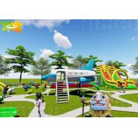 China Amusement Park Kids Outdoor Playground Equipment Facility Fully Functional on sale