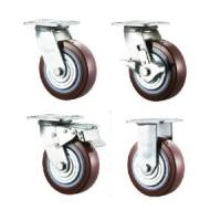 Best Heavy Duty Double Ball Bearing Excellent PU caster II wholesale