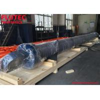 China Heavy Duty Front Flange Mount Hydraulic Cylinder For Stacker Reclaimer on sale