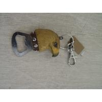 Buy cheap wood carving eagle bottle opener key ring from wholesalers