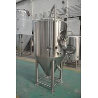 Buy cheap Jacketed Stainless Steel Beer Fermenter , Micro Brewery Equipment For Beer Fermenting from wholesalers
