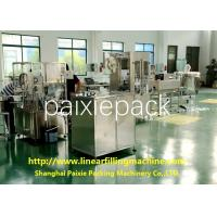 0.8KW Glass Or Plastic Bottle Linear Filling Machine Honey Filling Machine
