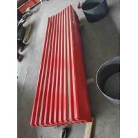 Best Big Spangle Surface Corrugated Steel Roof Sheets Corrosion Resistance wholesale