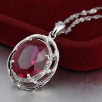 Best Silver Pendant with CZ Stone wholesale