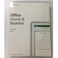 Buy cheap Retail Package Microsoft Office 2019 Home and Business for Windows online from wholesalers