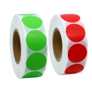 Best Plastic Self Adhesive Address Labels , Waterproof Plain Sticker Labels wholesale