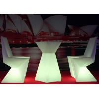China Wifi Controlled LED Light Chair IP68 Protection Degree Attractive Appearance on sale
