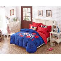 Best 250T Dorm Bedding Sets And 100% Cotton Fabric With Printed Design wholesale