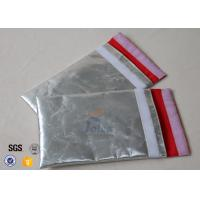 17 X 27 cm Aluminium Foil Fiberglass Fabric Fireproof Document Cash Safe Bag