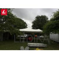 Best Custom Curved Peak Flat Aluminum Roof Frame Truss Structure With Tent wholesale