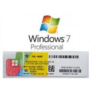 Best 2019 Microsoft Windows 7 Ultimate Key Coa Sticker , Windows 7 Ultimate Product Key wholesale