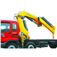 Buy cheap High Lifting Capacity 14T Knuckle Boom Truck Mounted Crane For Transporting Heavy Things product