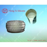 China Platinum cured silicone rubber for tire mold on sale