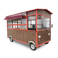 Best Electric Mobile Food Cart Mobile Fryer Food Cart With Rust Resistant Protective Coating wholesale