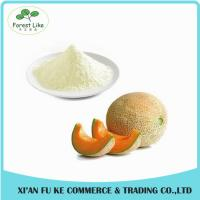 China Top Quality Cantaloupe Fruit Extract Powder/Best Flavor Hami Melon Powder on sale