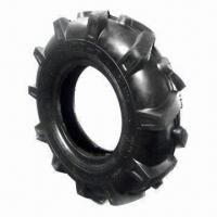 China Agricultural Tire with Lug Pattern, Made of Butyl and Natural Rubber on sale