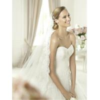 Best Modern Strapless Ball Gown Sweetheart Lace Wedding Dress for Summer , Spring wholesale