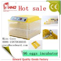 China Cheap Mini Poultry Full automatic poultry egg incubator setter hatcher transparent For Sale with CE Approved on sale