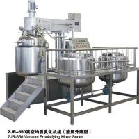 Best Touch Screen Controlled Vacuum Emulsifying Mixer For Homogenizing Mixing wholesale