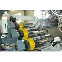 Best High Tension Fireproof Conical Pvc Sheet Production Line 0.5 - 2mm Sheet Thickness wholesale