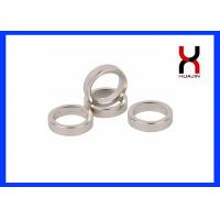 Best Strong Powerful Rare Earth Ring Magnets / Neodymium Ring Magnet N35-N52 Grade wholesale