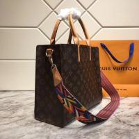 China LV handbag upgrade bottom thickness, leather handFavorite made of inner canvas is both practical and pleasing to the eye on sale