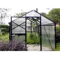 Best Wood Glass One Stop Gardens Greenhouse Safety Good Weather Resistance wholesale
