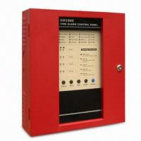 Best Control Panel Fire Alarm with 50Hz Frequency, 24V DC Battery Backup Connection and 4 to 16 Zones wholesale