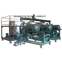 China NRY Used Oil Regeneration System,Used Oil Refinery Machine on sale