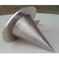 Best 1/4'' Perforated Holes Conical Or Basket Type strainer Mounting Between Two Flanges wholesale