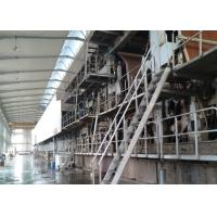 Best Recycled Carton / Corrugated Paper Making Machine Fire Resistant Double Face wholesale